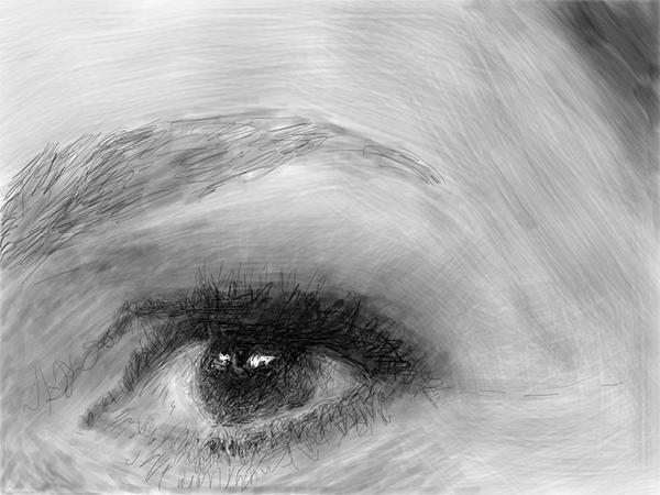 Queen Maxima's eye