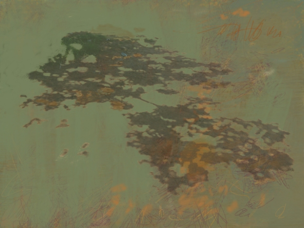 A sombra flutuante