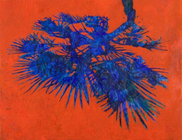 Blauwe-schaduw